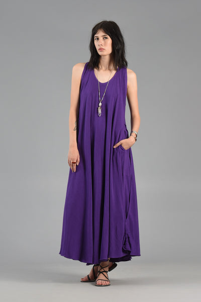 1980s Moroccan Gauze Convertible Maxi Dress