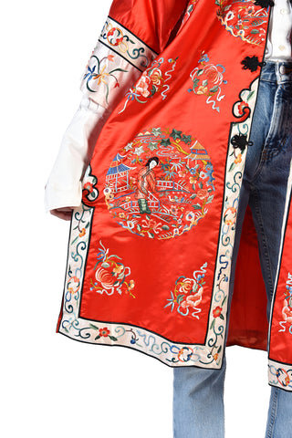 Charlize Chinese Embroidered Silk Jacket