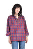 Anderson Plaid Cotton Tunic