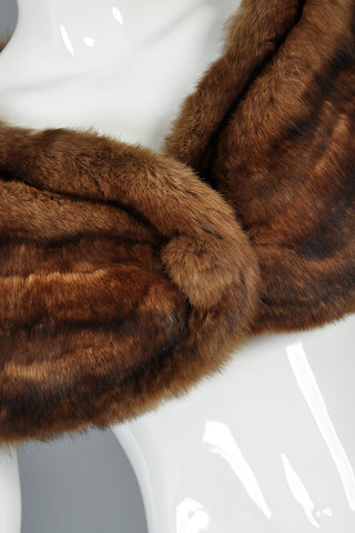 Gorgeous 1950s Russian Sable Fur Stole