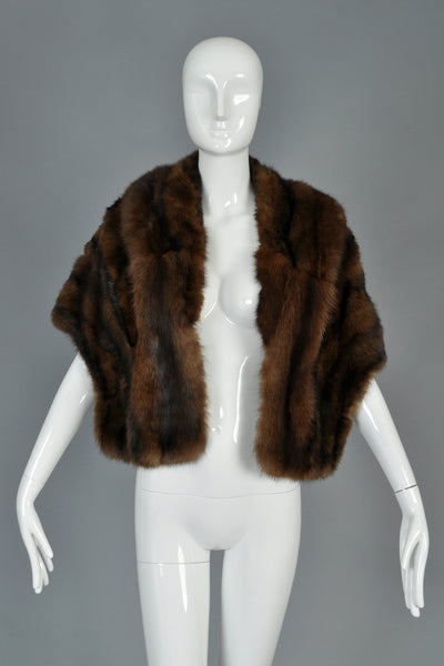 1950s Russian Sable Fur Stole