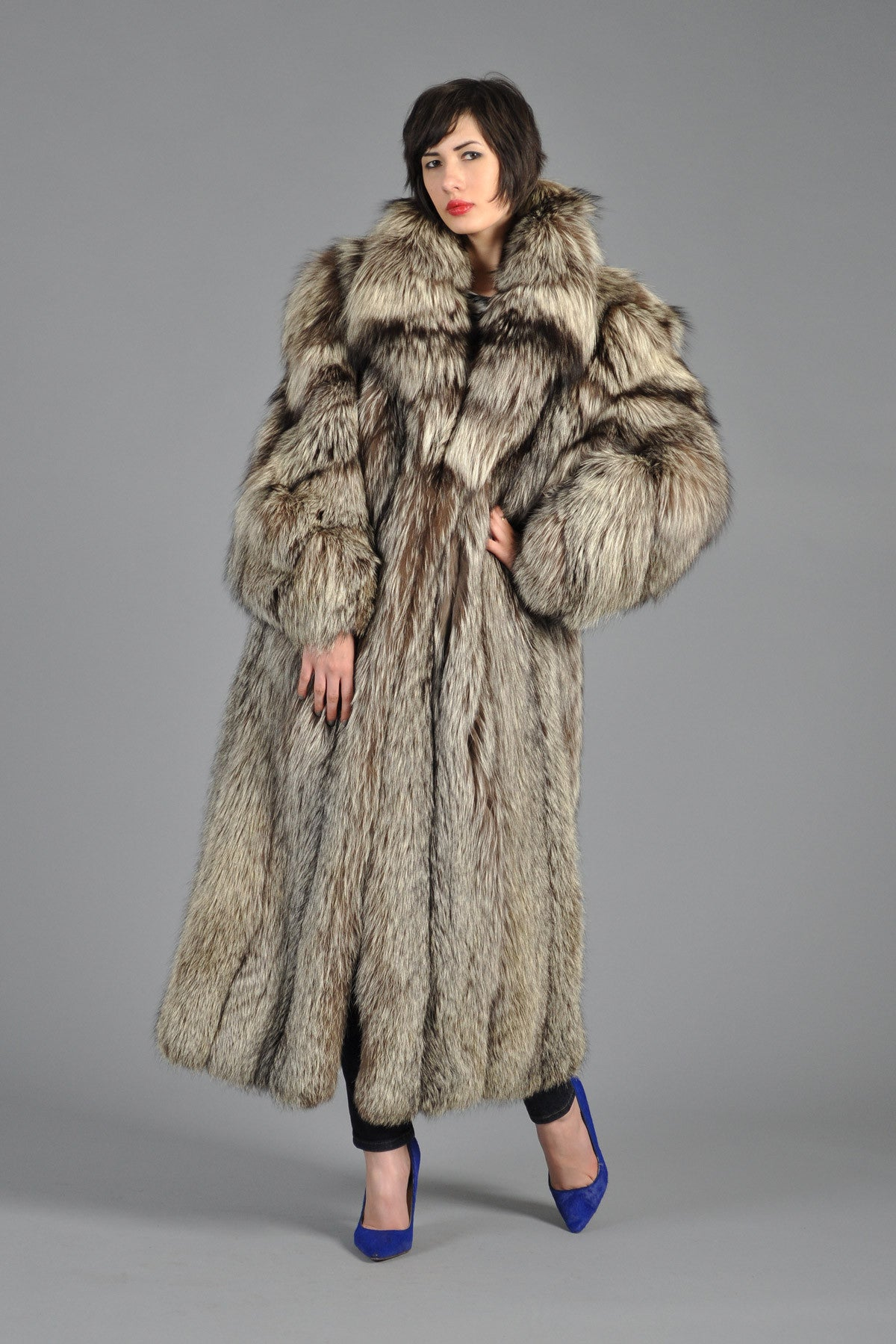 Collection Fox Fur Coat Pictures - Reikian