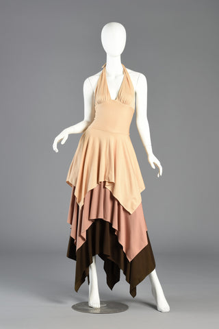 aaa9a145f13 ... Bis   Beau 1970s Tiered Maxi Dress by Olivia Bis