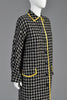 1990s Gianni Versace Couture Plaid Coat