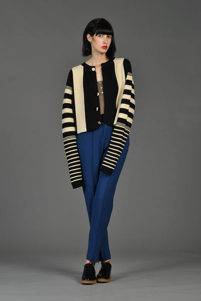 Rare Yohji Yamamoto Workshop Striped Sweater