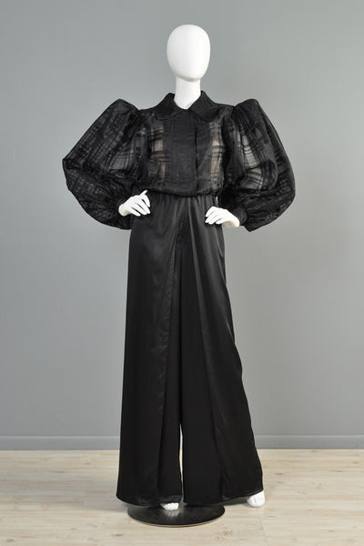 Yves Saint Laurent Haute Couture Palazzo Jumpsuit