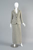 Vintage 1960s Adolfo Tweed Maxi Dress + Jacket