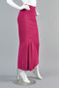 Alaia Magenta Mermaid Maxi Skirt