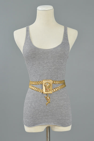 Christian Dior Gold Chain Belt