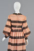 Donald Brooks 1960s Brocade + Sequin Bohemian Dress