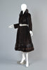 Galanos 1970s Mink Fur Princess Coat