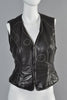 "Moschino Leather ""Oops!"" Vest"