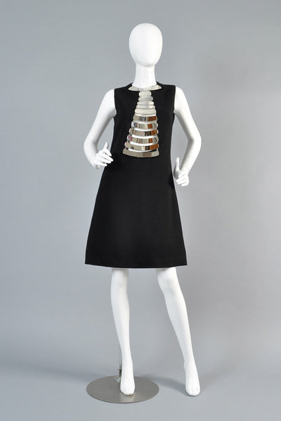 Pierre Cardin 1968 Necklace Dress