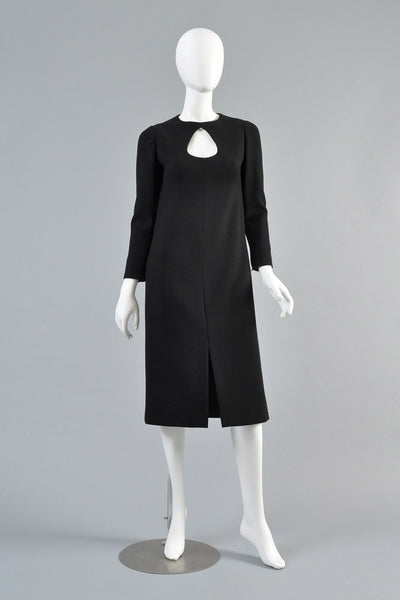 1960s Pierre Cardin Teardrop Cutout Dress