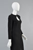 Vintage 1960s Pierre Cardin Space Age Teardrop Cutout Dress