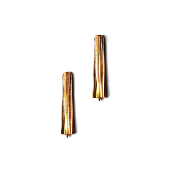 Prism Bar Studs Brass