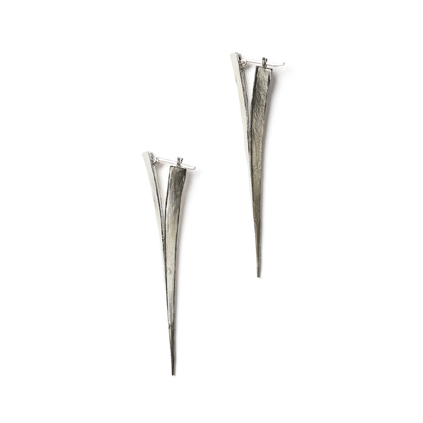 Telson Merging Earrings Sterling