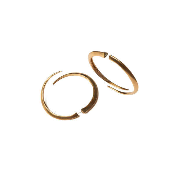 Telson Echo Hoops Brass