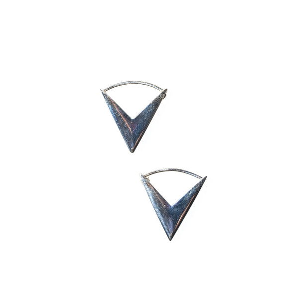 Arrow Hoops Sterling