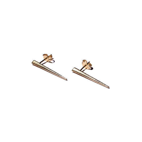 Petite Telson Ear Climber Yellow Gold