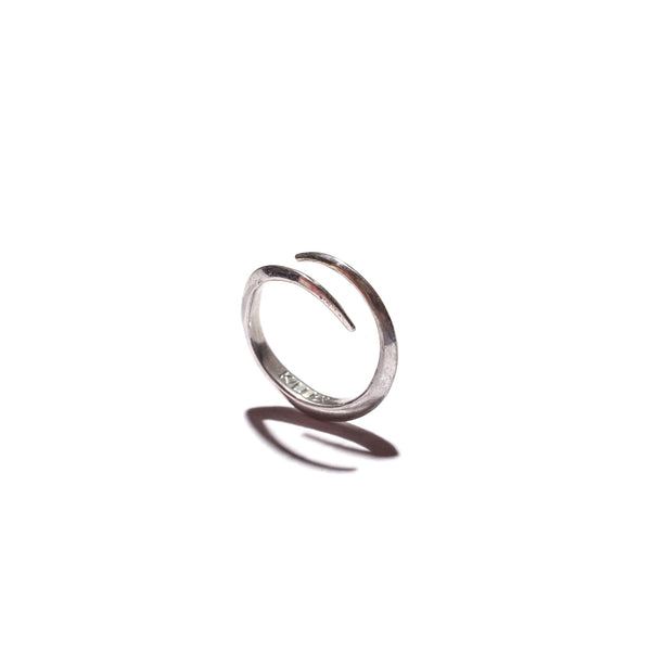 Telson Wrap Ring Sterling