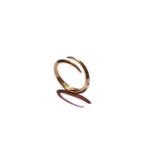 Telson Wrap Ring Yellow Gold