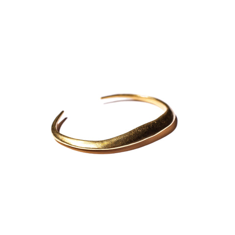 Telson Cuff in Brass