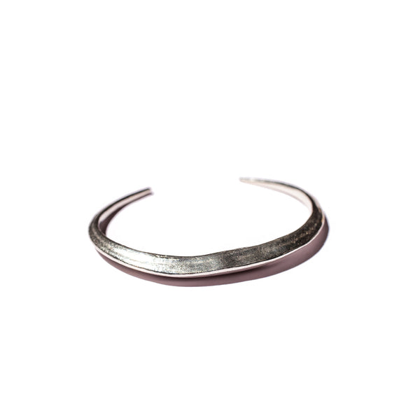 Telson Cuff in Sterling