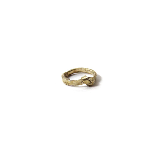 Brass Single Knot Ring