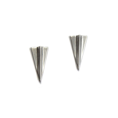 Ghost Peak Earrings Sterling