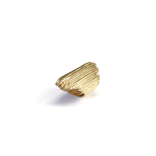 Matchstick Ring Brass