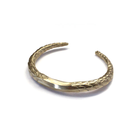 Scaled Cuff Brass