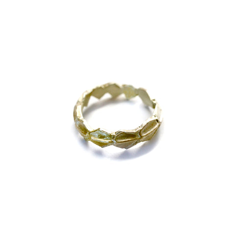 Scaled Ring Brass
