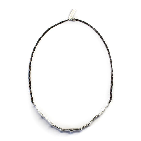Bat Tail Collar Sterling