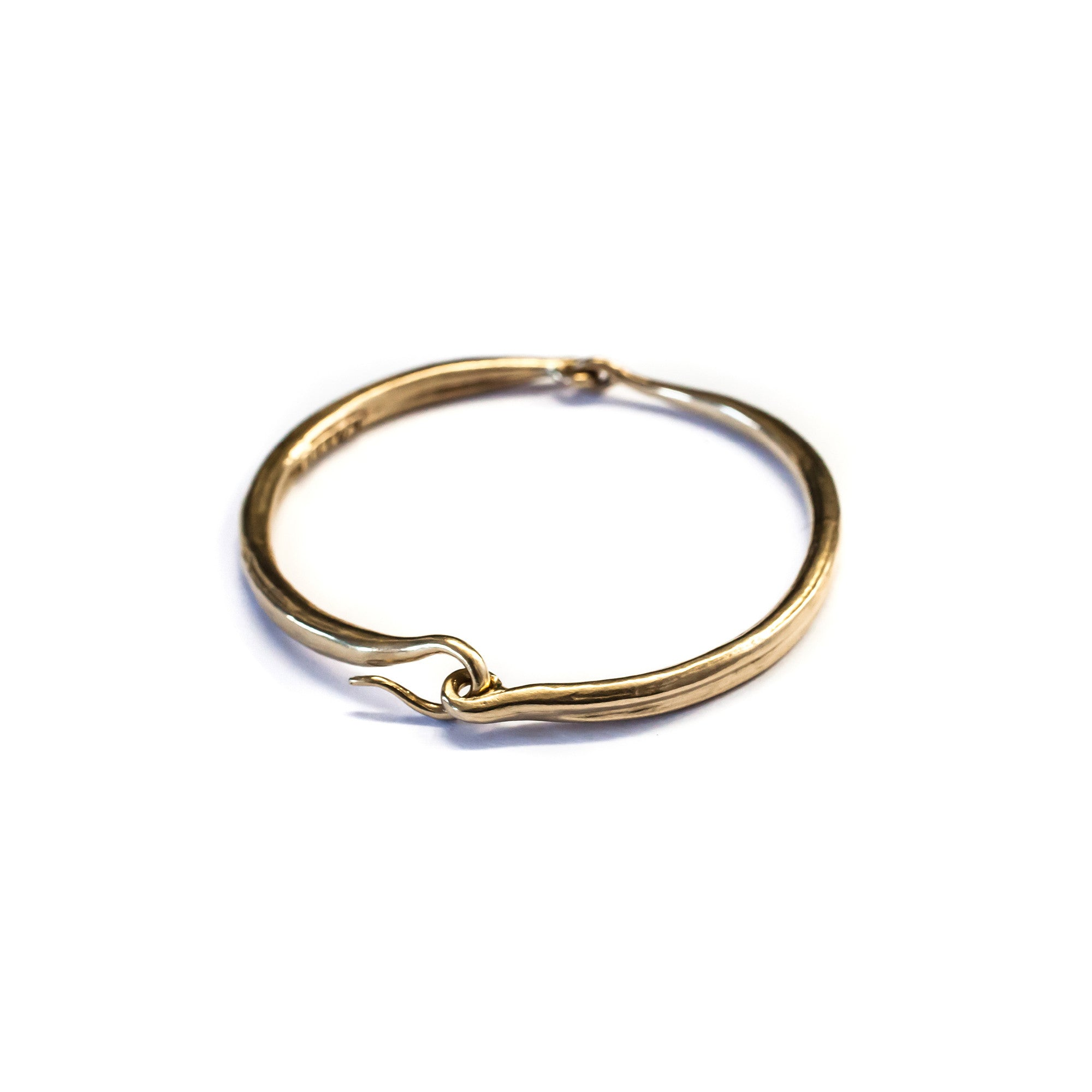 metal hinged gold silver product bangle bracelet in bangles by set quinn gorjana