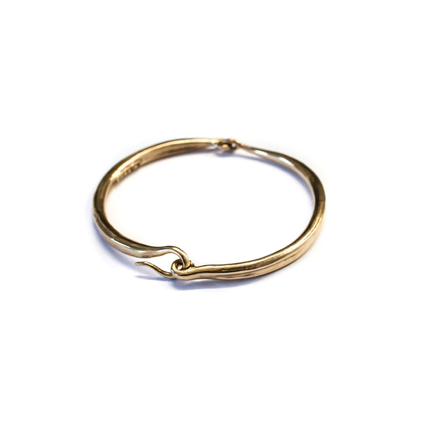 Hinged Bangle Brass