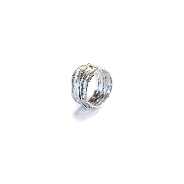 Stacked Ring Sterling