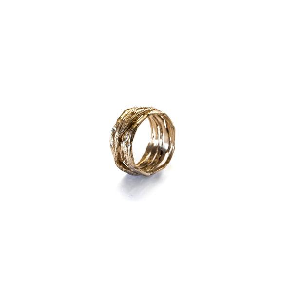 Stacked Ring Brass