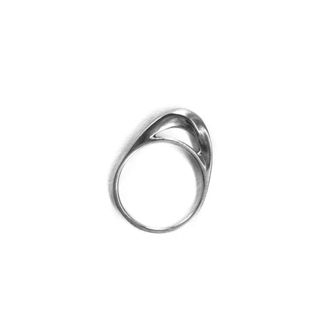 Twist Dome Ring Sterling