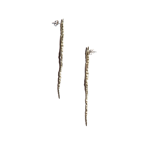 Long Thorned Studs Brass