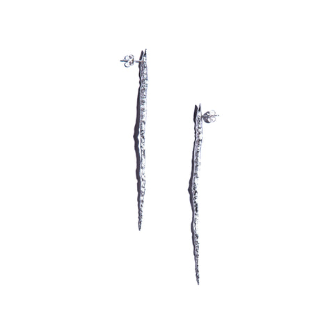 Long Thorned Studs Sterling