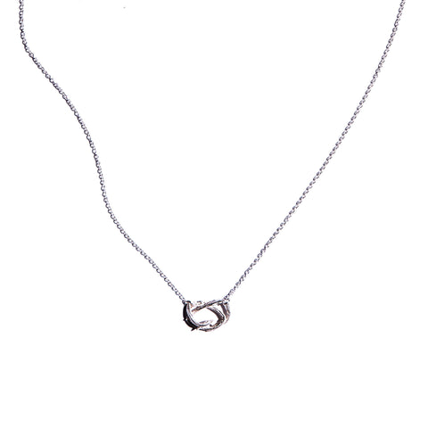 Petite Willow Nest Necklace Sterling