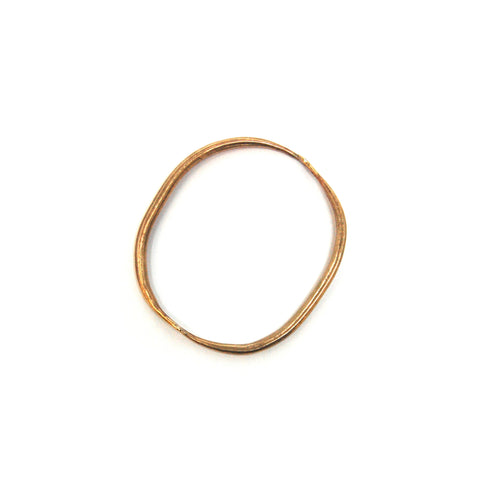 Brass Quill Bangle