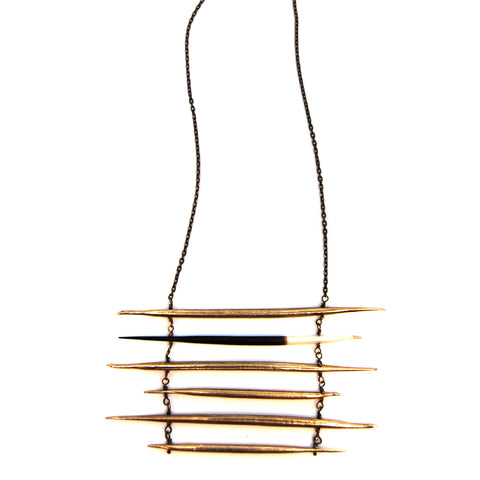 Brass Quill / Porcupine Quill Ladder