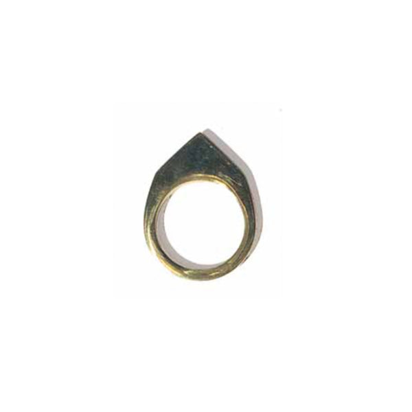 Blade Ring Brass