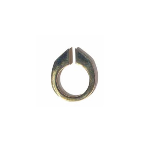 Split Blade Ring Brass