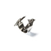 Cuarzo Cluster Ring Sterling