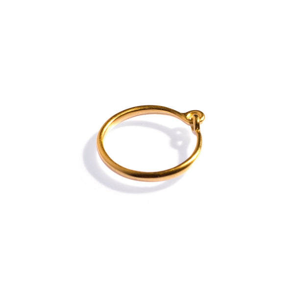 Hinged Ring Yellow Gold