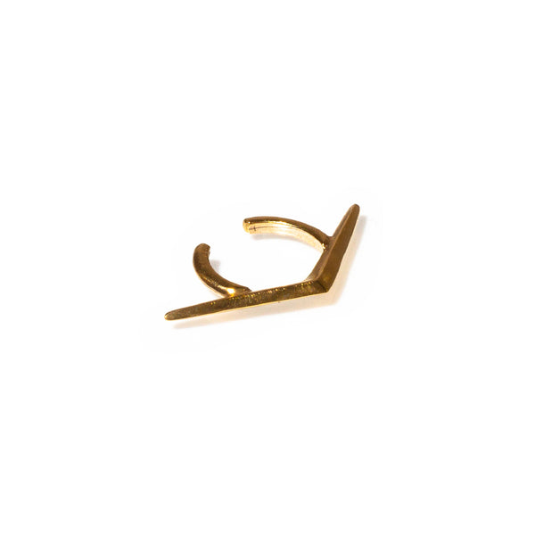 Ray Ear Cuff Gold