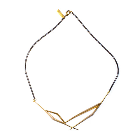 Multi Ray Collar Brass